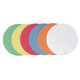 FRANKEN Moderationskarte, Kreis, Durchm.: 95 mm, sortiert