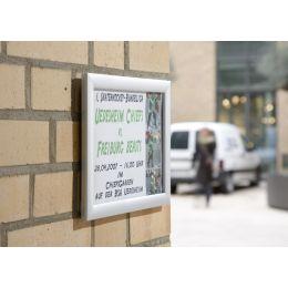 FRANKEN Plakatrahmen Outdoor, DIN A4, 25 mm Rahmenprofil