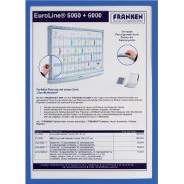 FRANKEN Sichttasche FRAME IT X-tra!Line, DIN A4, blau