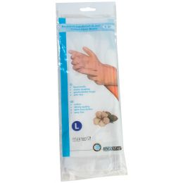 franz mensch Baumwoll-Handschuh BLANC HYGOSTAR, weiß, XL