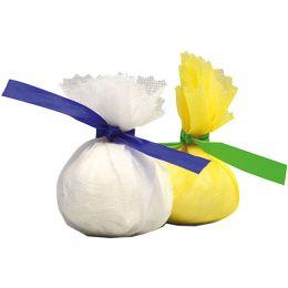 franz mensch Lemon Wrap HYGOSTAR, weiß, mit blauer Krawatte