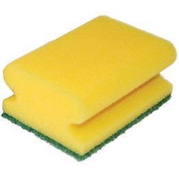 franz mensch Reinigungsschwamm CLASSIC, 95 x 70 mm, gelb
