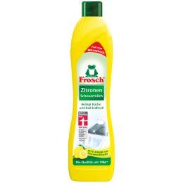 Frosch Zitronen-Scheuermilch, 500 ml Flasche