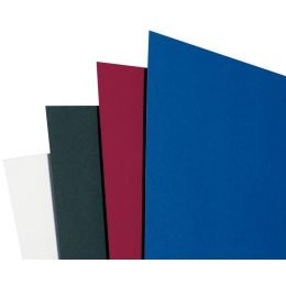 GBC Einbanddeckel LinenWeave, DIN A4, 250 g/qm, blau