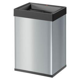 Hailo Abfalleimer Big-Box Quick L, 35 Liter, silber