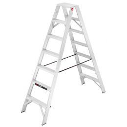 Hailo Profi-Doppelstufenleiter ProfiLine D 250, 2 x 7 Stufen