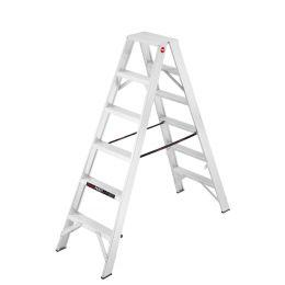 Hailo Profi-Doppelstufenleiter ProfiLine D 250, 2 x 6 Stufen
