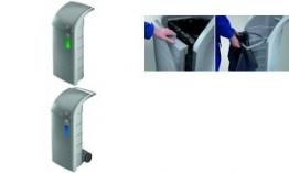 Hailo Rollen-Set für Wertstoffbehälter ProfiLine WSB 120
