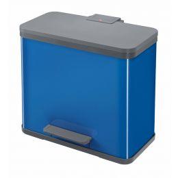 Hailo Tret-Abfalltrenner ProfiLine Solid Öko Duo L, blau