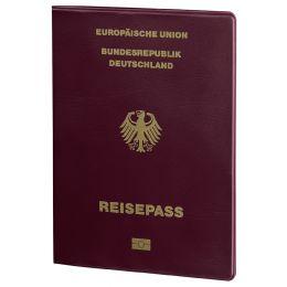 hama RFID-Schutzhülle Berlin für Reisepass, bordeaux
