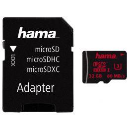 hama Speicherkarte Micro SecureDigital HC, Klasse 3, 64 GB