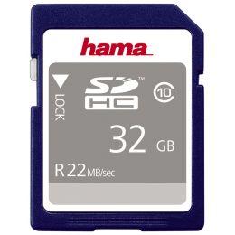 hama Speicherkarte SecureDigital High Capacity Gold, 16 GB