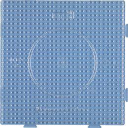 Hama Stiftplatte großes Quadrat, transparent