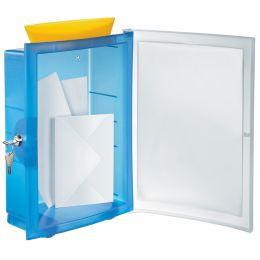 HAN Briefkasten IMAGEIN, blau-transluzent