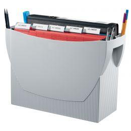 HAN Hängeregistratur-Box SWING, Kunststoff, lichtgrau