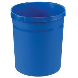 HAN Papierkorb GRIP, 18 Liter, rund, blau