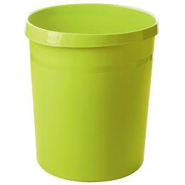 HAN Papierkorb GRIP Trend Colour, 18 Liter, rund, lemon