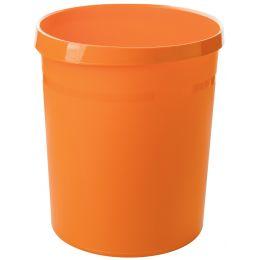 HAN Papierkorb GRIP Trend Colour, 18 Liter, rund, orange