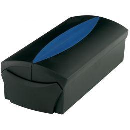 HAN Visitenkartenbox VIP-SET, schwarz/blau