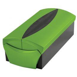 HAN Visitenkartenbox VIP-SET, grün/schwarz