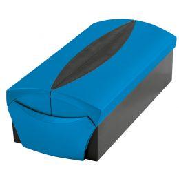 HAN Visitenkartenbox VIP-SET, blau/schwarz
