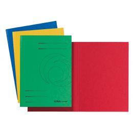 herlitz Aktendeckel easyorga, DIN A4, Colorspankarton, grün