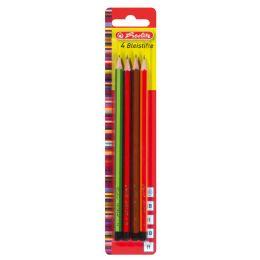 herlitz Bleistift Scolair, sechseckig, sortiert