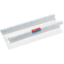 herlitz Buchschutzfolie, 400 mm x 3 m, PP, transparent