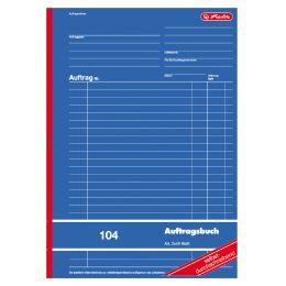 herlitz Formularbuch Auftrag 102, DIN A5, 2 x 40 Blatt