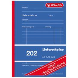 herlitz Formularbuch Liefer-/Empfangsschein 205, DIN A5