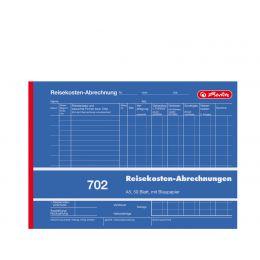 herlitz Formularbuch Reisekostenabrechnung 702, A5 quer