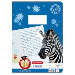 herlitz Geschichtenheft x.book, DIN A4, Lineatur 3G