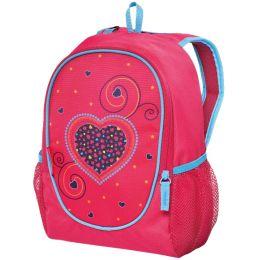 herlitz Kinderrucksack Rookie Pink Hearts