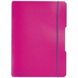 herlitz Notizheft my.book flex, A5, PP-Cover, blau