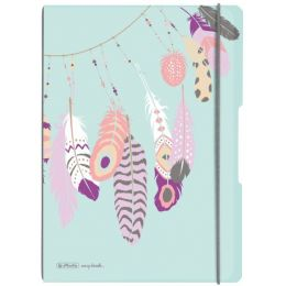 herlitz Notizheft my.book flex Feathers, A4