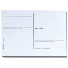 herlitz Postkarten, DIN A6, 170 g/qm, weiß