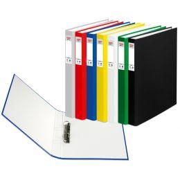 herlitz Ringbuch maX.file protect, A5, 2-Ring-Mechanik, rot