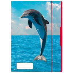 herlitz Zeichnungsmappe Delfin, DIN A4