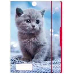 herlitz Zeichnungsmappe Katze, DIN A4