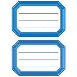 HERMA Buchetiketten, blaue Randgestaltung, 82 x 55 mm