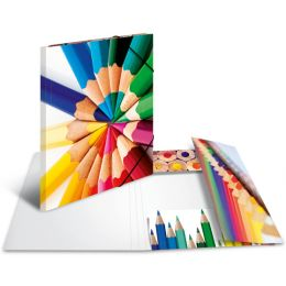 HERMA Eckspannermappe Stifte, aus Karton, DIN A3