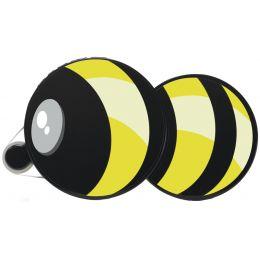 HERMA Kleberoller Klebebiene, Bienenoptik, wieder ablösbar