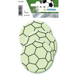 HERMA Leuchtsticker Fußball Maxi