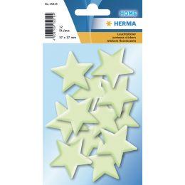 HERMA Leuchtsticker HOME Sterne Mini