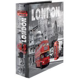 HERMA Motivordner London, DIN A4, Rückenbreite: 70 mm