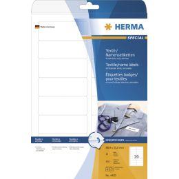 HERMA Namens-Etiketten SPECIAL, 80,0 x 50,0 mm, weiß