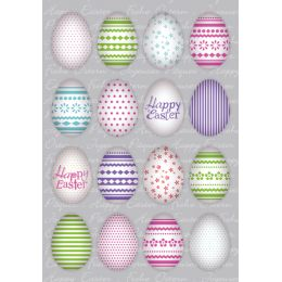 HERMA Oster-Sticker TREND Bunte Eier