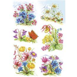 HERMA Sticker DECOR Gebirgsblumen