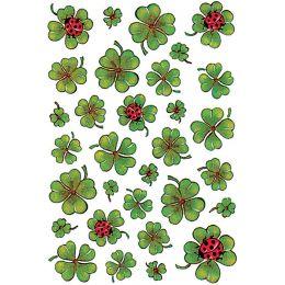 HERMA Sticker DECOR Kleeblätter