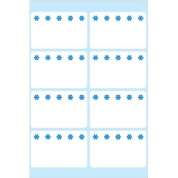 HERMA Tiefkühletiketten, 26 x 40 mm, weiß
